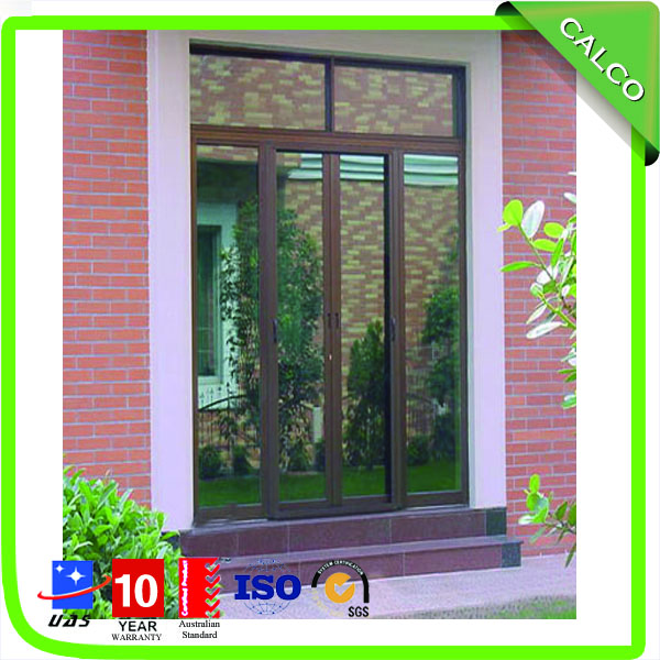 aluminum slide window
