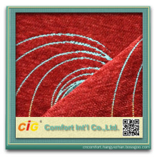 Fashionable 100% polyester chenille sofa fabric