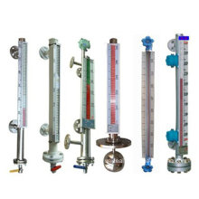 Sensor de nível de líquido de água magnética de alta precisão lado montado / transdutor / calibre / medidor / transmissor