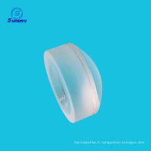 Personnalisé toutes sortes de lentilles sphériques avec verre