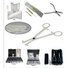 Arte corporal profissional Piercing---Piercing ferramenta & Kits de ferramentas de perfuração