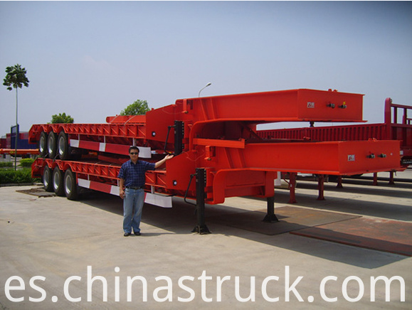 100Ton low bed trailer