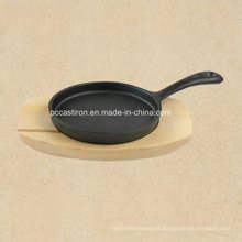De hierro fundido Mini Frypan Server de China