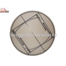 Mesa redonda moderna de banquete penteadeira mesa redonda de 160cm
