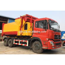 6X4 drive Dongfeng hook arm garbage truck / sealed garbage truck /compressor garbage truck / compact garbage truck /swing arm