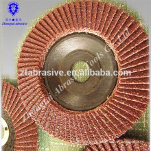 alumina 100mm--180mm 72 pieces blade round flap-disc