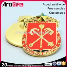 Venta caliente promoción insignia decorativa del regalo para la venta