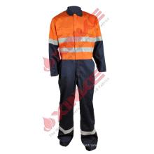 Combinação anti-radiação ultravioleta com reflexivo para vestuário