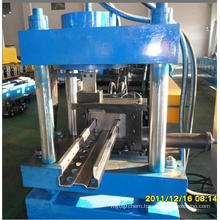 Storage shelf upright pillar roll forming machine