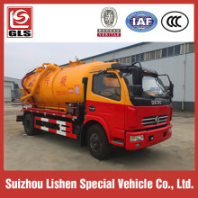 Dongfeng 4X2 5000L Vacuum Sewage Suction Tanker Truck