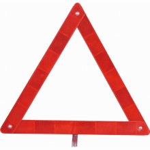 Reflective traffic car warning triangle sign