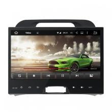Reproductor de DVD portátil del coche de la navegación GPS para KIA Sportage