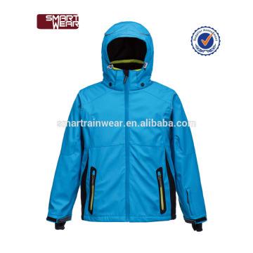 2018 детская одежда оптом синий лыж сноуборд куртка для детей