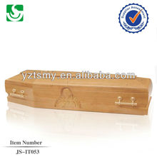 Chinese plan made new design Europe style coffin