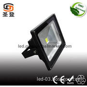 High power COB 10/20/30/50W LED outdoor lighting Black/grey IP65