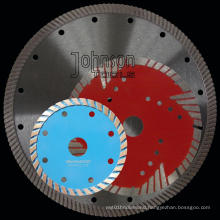 100-350mm Diamond Sintered Turbo Saw Blade for Stone Cutting