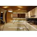 Weißer Hochglanzlack-Küchenschrank hochwertiger Standard