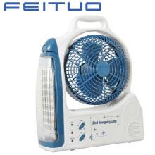 Ventilateur, ventilateur Rechargeable, Fan d'urgence, éclairage de secours, 1618-6C