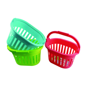 Plastic Fruit And Vegetable Basket Colored