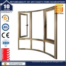 Aluminium-Flügelfenster mit hochwertigem Titl-Drehfenster