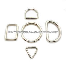 Moda Alta Qualidade Saco & Correia & Colar & Trela Metal D Anéis