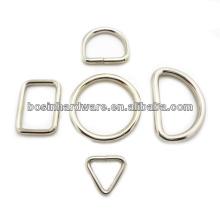 Мода Высокое качество сумка и ремешок и воротник и поводка металла D кольца