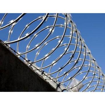 Temporary Fence (concertina galvanized)