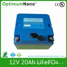 12V 20ah LiFePO4 Lithium Start Battery for EV