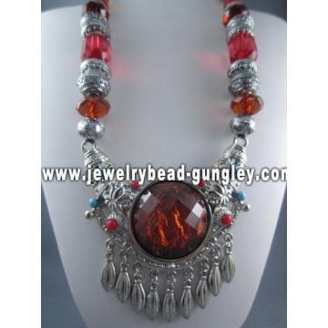 Jóia colar tibetano