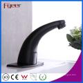 Fyeer New Grifo para lavabo de lavabo de agua fría y caliente con válvula de ajuste de temperatura