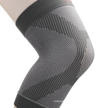 Customized logo elastic pain relief knee pads compression sleeve for support