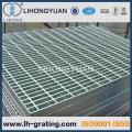 Grade de piso de aço galvanizado para passagem de plataforma