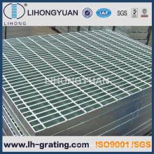 Grille de sol en acier galvanisé pour plate-forme passerelle