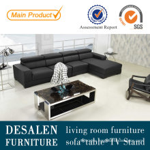 Modern Italian Leather Sofa for Living Room Furniture (L1303)