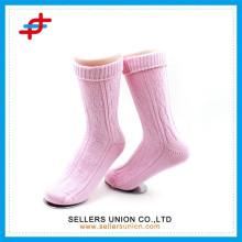 Ladies custom made tube thick socks from china socks facotory