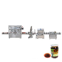 Mixing with Heater Chocolate Hot Sauce Packaging Equipment Bottle Filling Machine