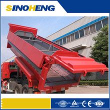 Sinotruk 16m3 Tipping Garbage Truck with Box Cover