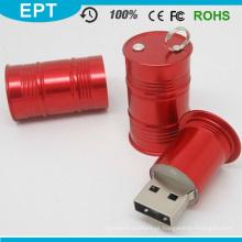 Keychain Barril de óleo pode dar forma USB Pendrive (EP085)