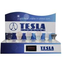 Probador de lámpara para luces LED con medidor de potencia