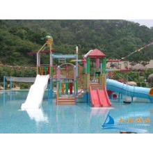7m Amusement Park Water Playground Aquatic Play Structures