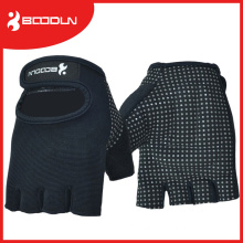 Ottoman Material Silicon Printing Palm Anti-Slip Weight Lifting Glove Fingerness Gloves