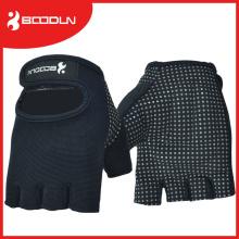 Material Otomano Silício Imprensa Palm Anti-Slip Luva de Levantamento de Peso Luvas Fingerness