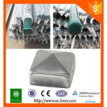 Fábrica de metal usado diretamente poste de metal / postes de vedação de metal galvanizado / postes de vedação de metal removível