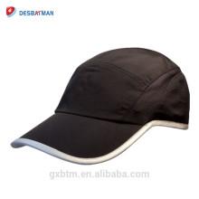Sombrero de seguridad reflexivo del deporte del OEM Hi-Viz aprobado CE