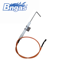 Gas accessories of electrode for gas water heater