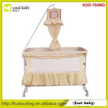 Cool Baby Crianças Prodcuts Multi Funcional Swing Cama Deluxe Hight Pole Rede Mosquito 4pcs rodas podem ser transformadas Swing Berço