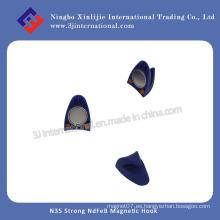 N35 Fuerte NdFeB gancho magnético