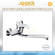 2017 long neck 3 way wall mounted sink water kitchen faucet