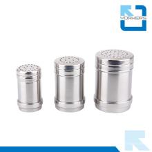 Großhandel Metall Edelstahl Salz und Pfeffer Flasche