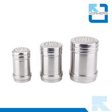 Wholesale Metal Stainless Steel Salt and Pepper Bottle